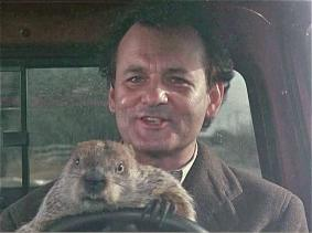 Groundhog Day (with Bill Murray and friend) will be made into a Broadway musical for 2016-17