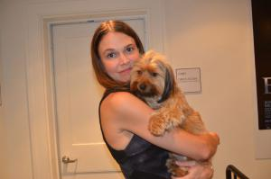 Sutton Foster and Mabel