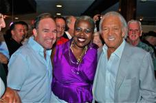 Stephen Flaherty, Lillias White with  Marty Richards