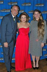 Stewart F. Lane ( Chairman), Tovah Feldshuh, Bonnie Comley (Honoree, Award for Distinguished Service to the Theatre)