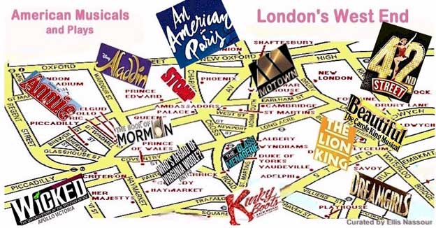 American Musicals Dominate London