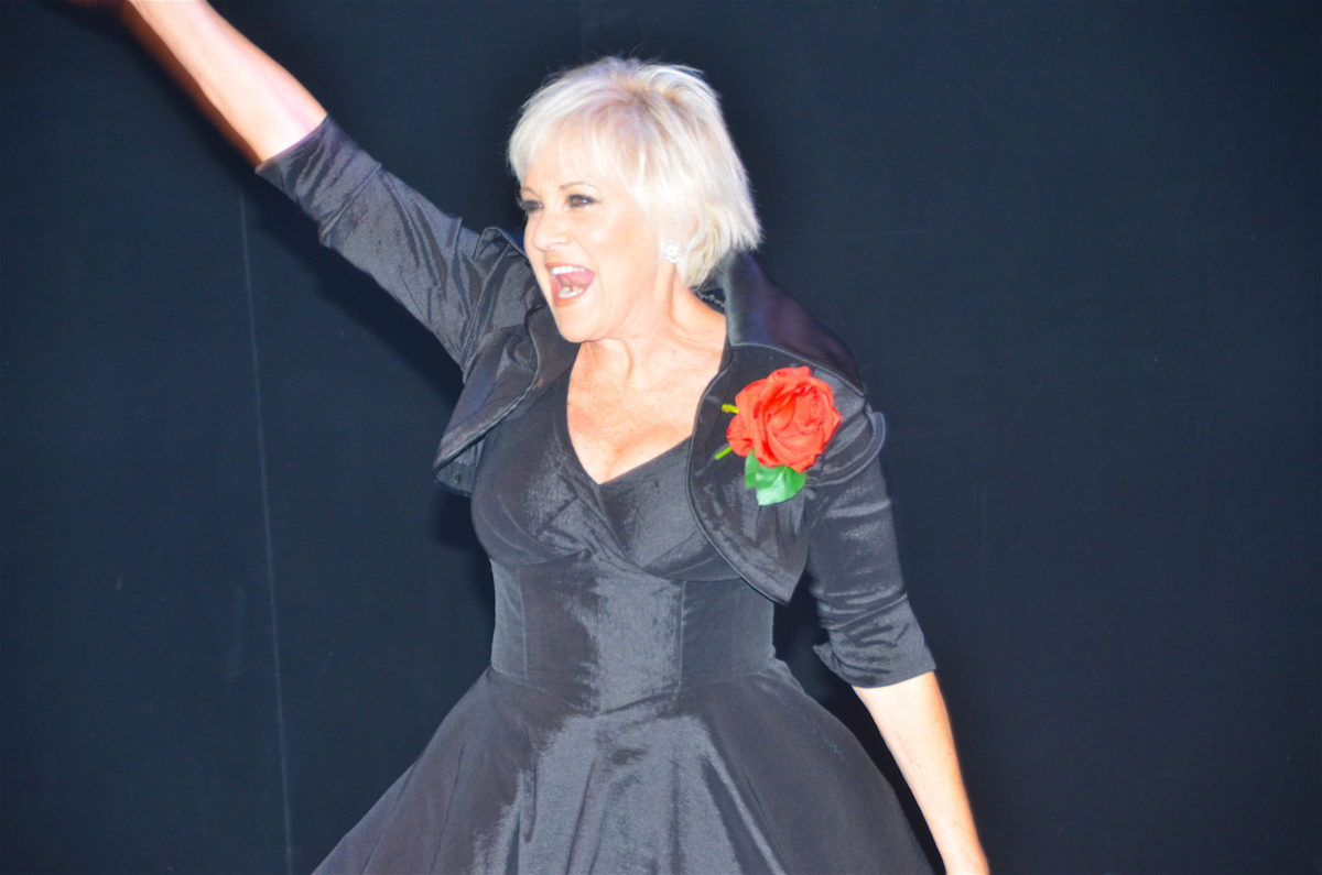 Lorna Luft at Bay Street