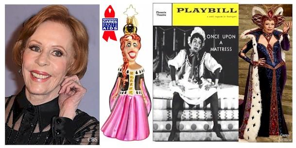 Carol Burnett Joins Broadway Legends