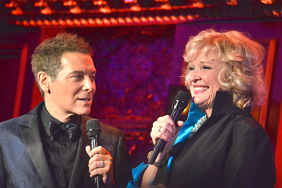 Christine Ebersole & Michael Feinstein @ 54 Below