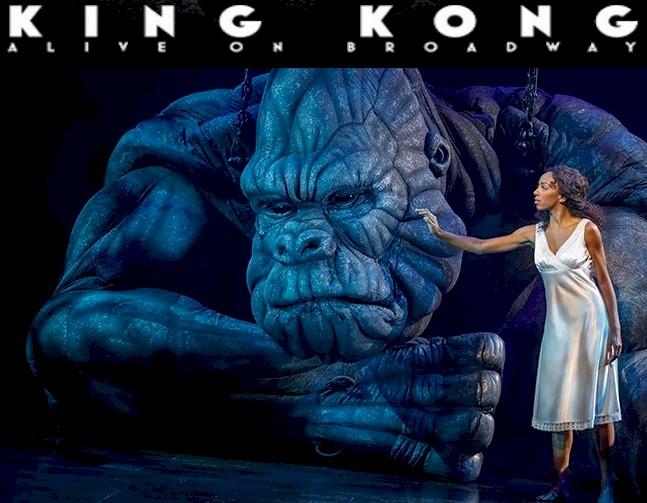 Christiani Pitts … King Kong Opens on Broadway
