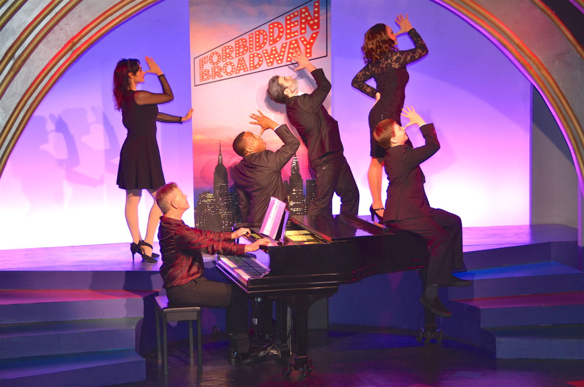 Forbidden Broadway Opens at York